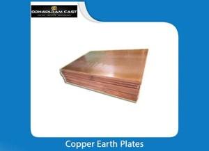 Copper Earth Plates