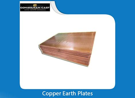 Copper Earth Plates