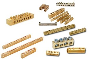 Brass Earth Bars