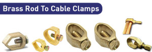 Brass Rod To Cable Clamps
