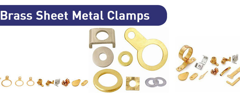 Brass Sheet Metal Clamps