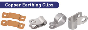 Copper Earthing Clips