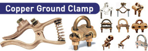 Copper Ground Clamp