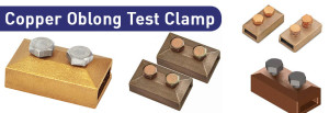 Copper Oblong Test Clamp