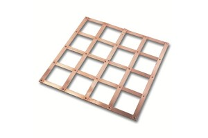 EARTH PLATE - LATTICE COPPER