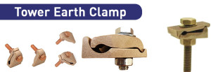 Tower Earth Clamp