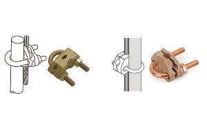 U-Bolt Rod To Cable Clamp SCE