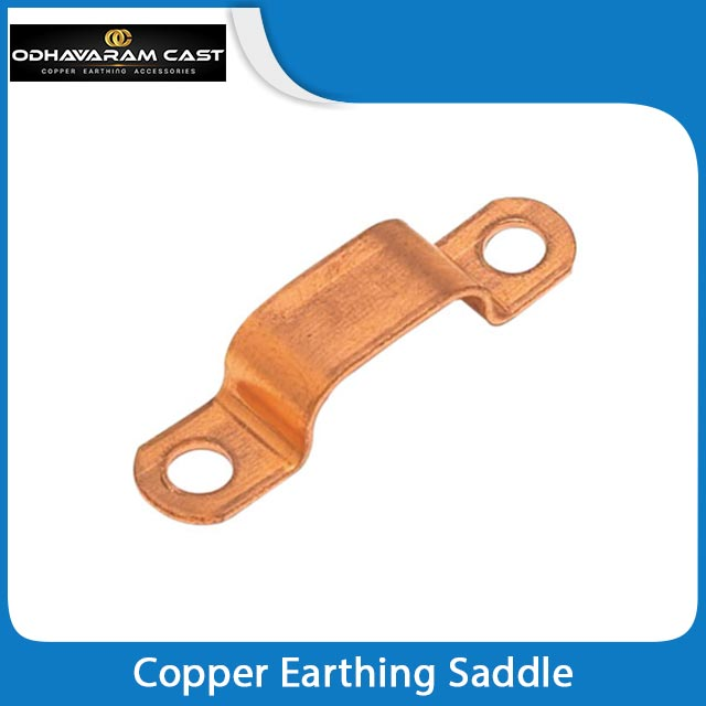 Copper Earthing Saddle